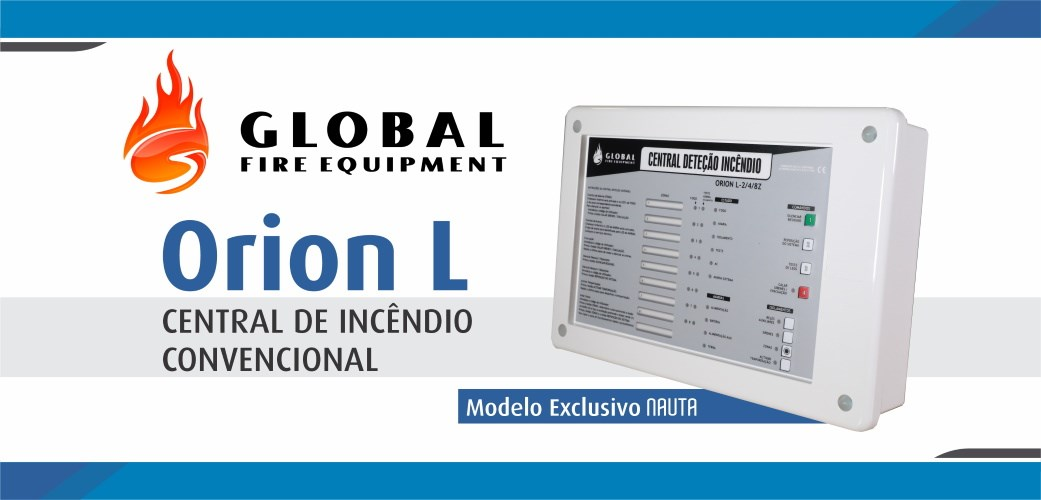 Orion L - Central Convencional - Modelo Exclusivo Nauta