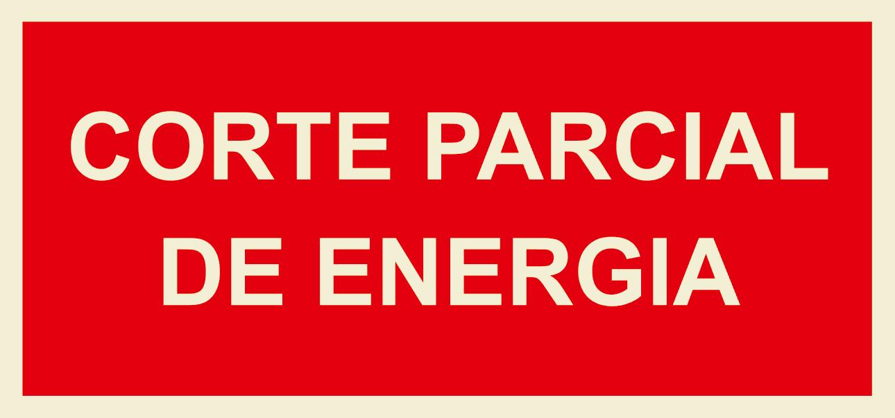 CORTE PARCIAL DE ENERGIA 200X100