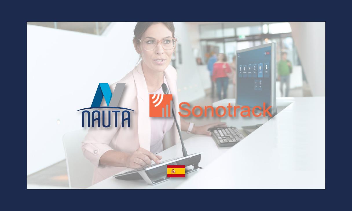 NAUTA e SONOTRACK parceiras no mercado espanhol