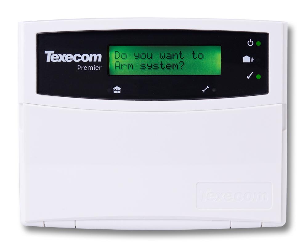 TEXECOM RKP16 LCD