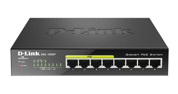 D-LINK DGS-1008P