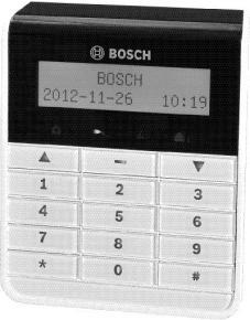 BOSCH AMAX KEYPAD 4000 T - IUI-AMAX4-TEXT