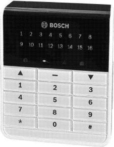 BOSCH AMAX KEYPAD 3000 L16 - IUI-AMAX3-LED16