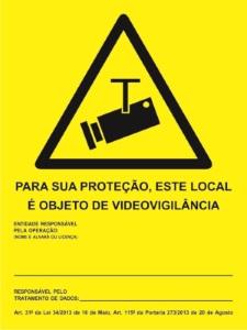 CCTV P/ PREENCHER 150x200