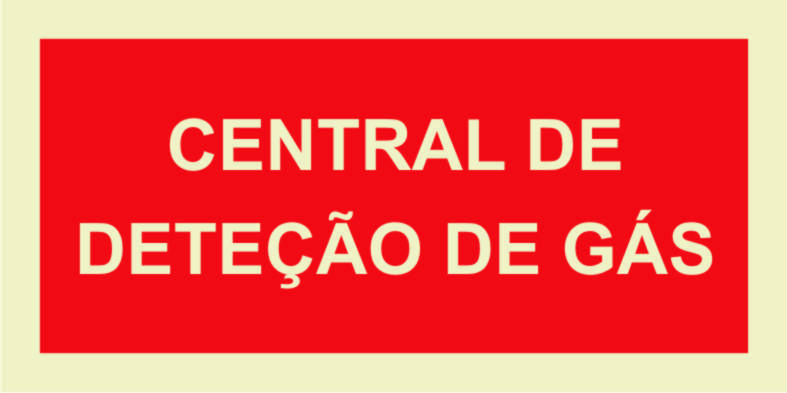 Central detecção Gás