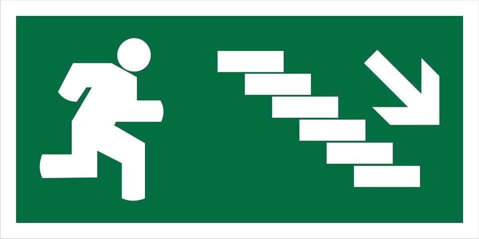 Escada Descer Saída 200x100