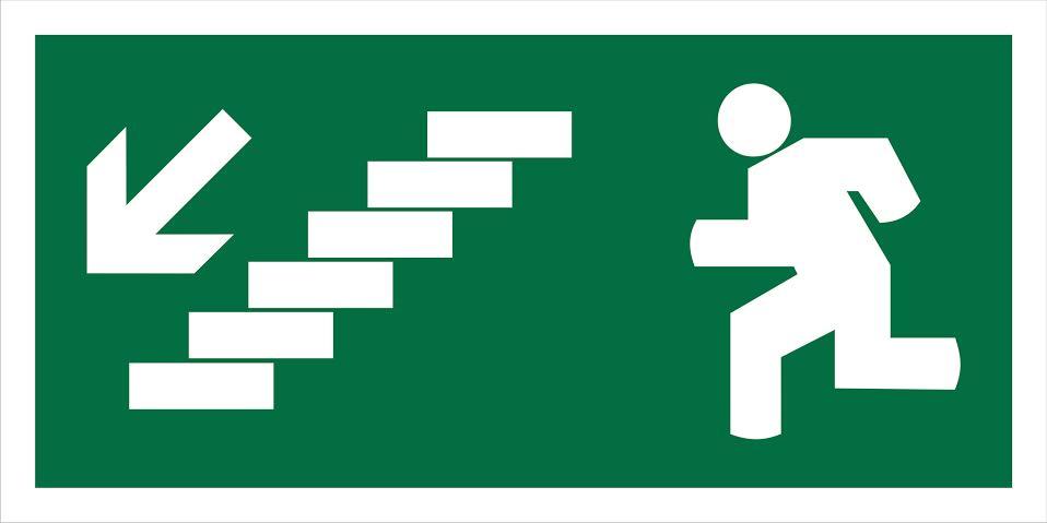 Escada Descer Saída Esquerda 200x100