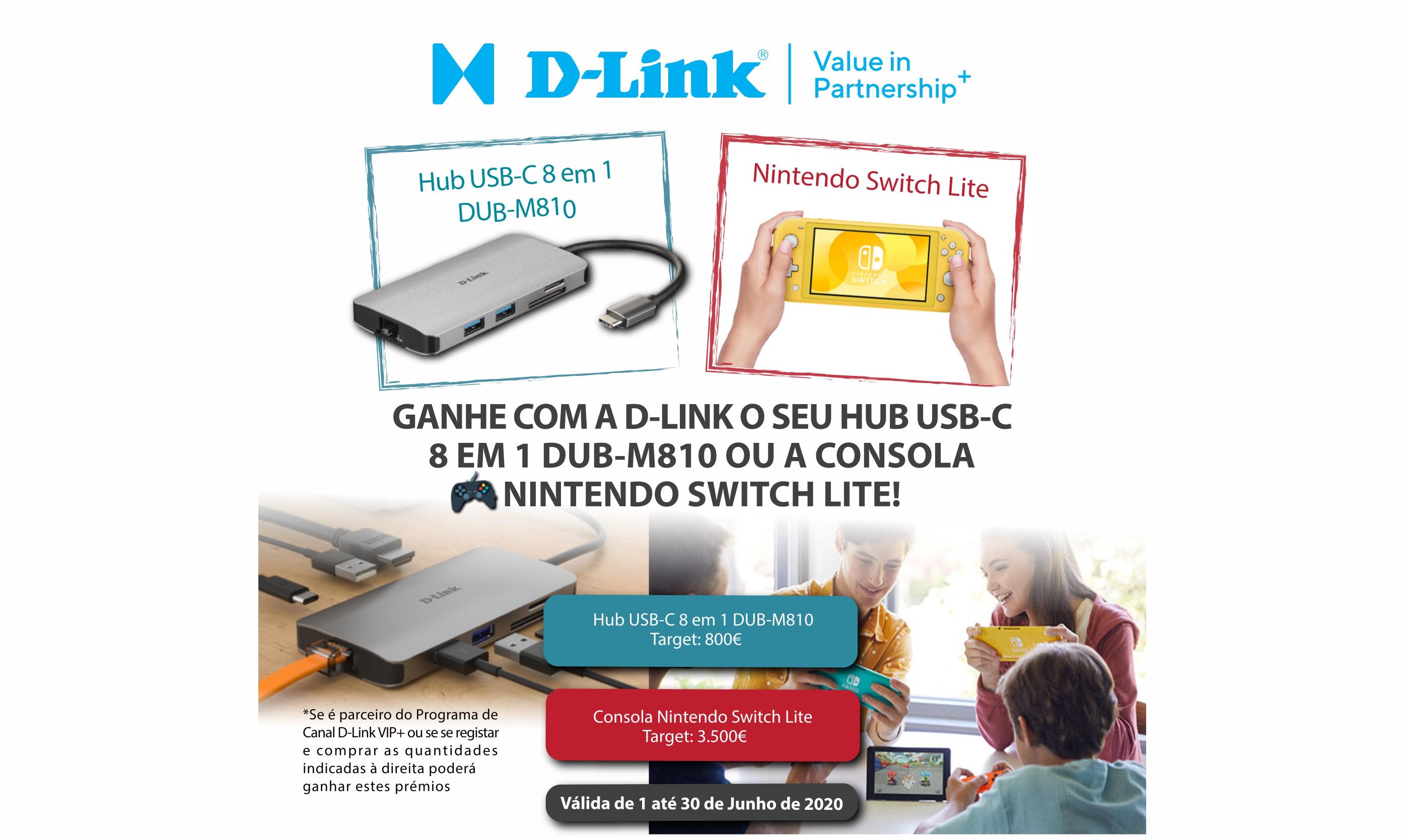 Campanha promocional Canal D-Link VIP+