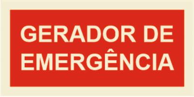 GERADOR EMERGÊNCIA 200x100