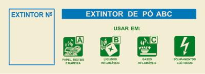 EXTINTOR PO ABC (EXT Nº) 235x85